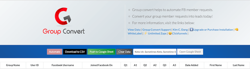 Group Convert Review: Extract Emails From Facebook Groups