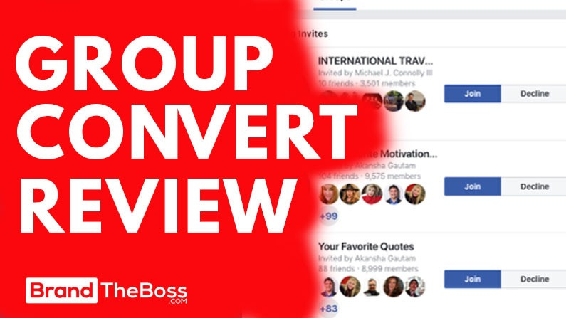 Group Convert Review: Extract Emails From Facebook Groups | Brand