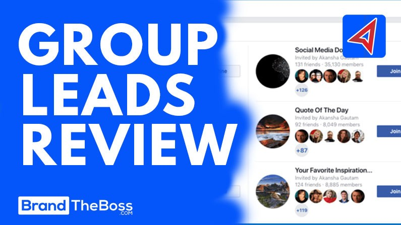 Group Leads Review: Collect Emails From Facebook Groups | Brand The Boss