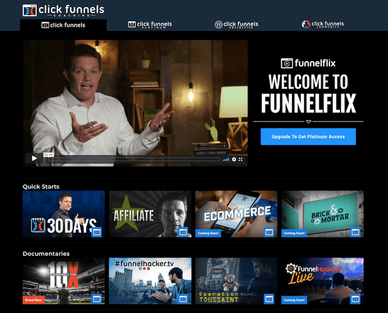 welcome to funnelflix