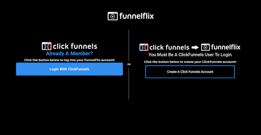 funnelflix login