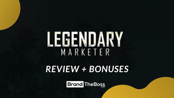 Legendary Marketer  Full Specifications