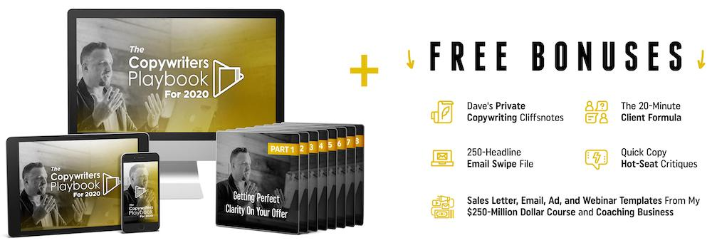 legendary marketer copywriters playbook with bonuses