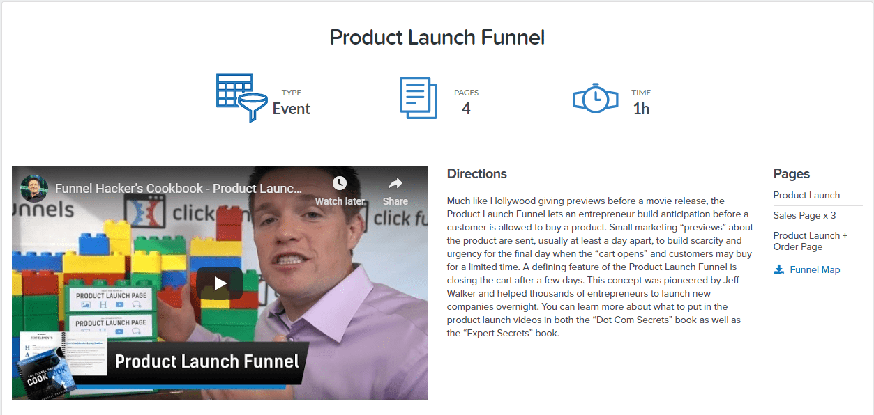 clickfunnels product launch funnel